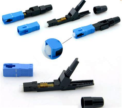 Sc Optic Fiber Fast Connector Connectors Ftth Upc Cold Tool Kit ftth fiber optic fast connector sc apc fast connector sc