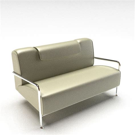 silver grey sofa silver grey sofa 3d model cgtrader com