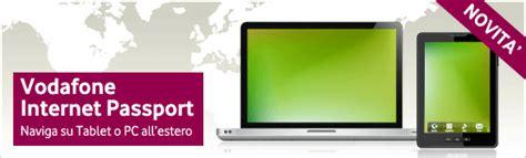 vodafone passport mobile vodafone presenta passport e smart passport per