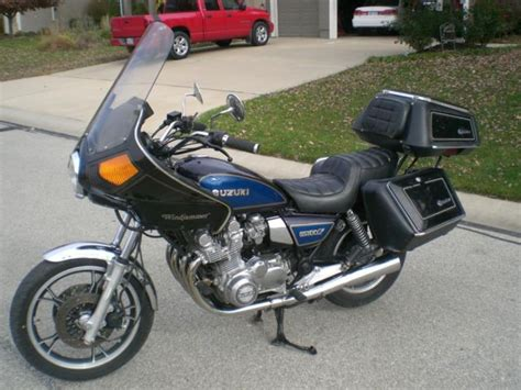 1982 Suzuki Gs 1100 1982 Suzuki Gs 1100 Gl Dresser 20 409 Runs And