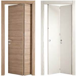 porte pieghevoli in legno porte serramenti bergamo