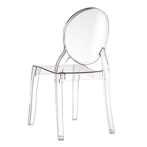 Chaise Plexi Elisabeth by Chaise De Style En Polycarbonate Transparent Elizabeth
