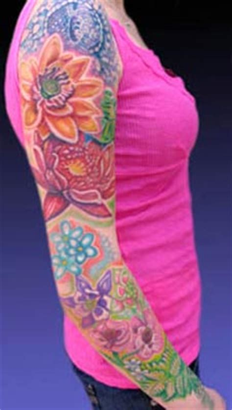 flower garden tattoos education tattoos michele wortman flower