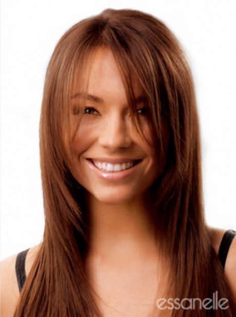 frisuren glatte lange haare