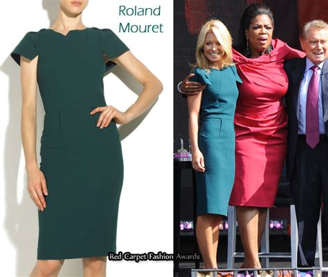 Who Wore Rm By Roland Mourets Moon Dress Better by In Ripa S Closet Rm By Roland Mouret Pencil Dress