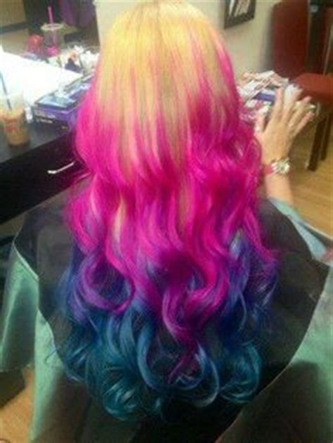 splat hair ideas 1000 images about multi colored hair on pinterest splat