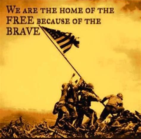 we are home of the free because of the brave pictures
