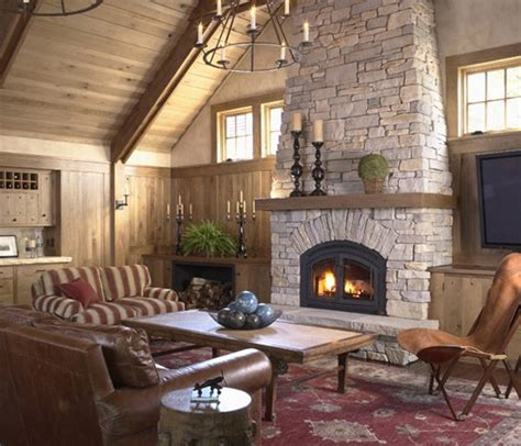 rock fireplace designs 40 stone fireplace designs from classic to contemporary spaces