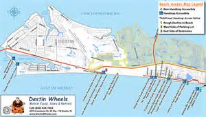 destin access information destin wheels