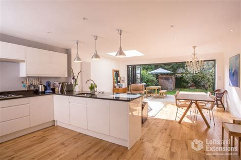 single storey extension kitchen extensions housetohome single storey kitchen extension in twickenham don t move