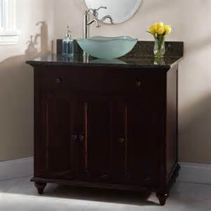vessel bathroom vanity 72 quot glympton vessel sink vanity with makeup area cherry