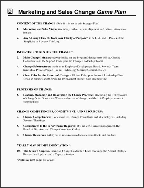 9 marketing sales plan template sletemplatess