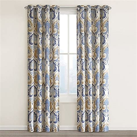 top of curtain called echo design jaipur grommet top window curtain panel bed