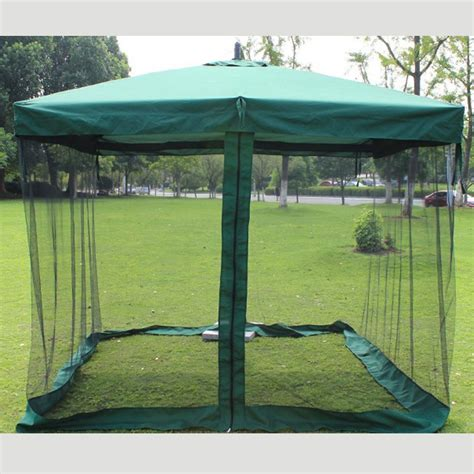Patio Umbrella With Netting Get Cheap Patio Umbrella Net Aliexpress Alibaba
