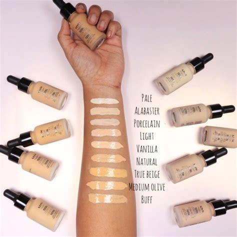 Nyx Foundation Drop review nyx drop foundation review