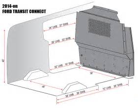 Ford Cargo Dimensions Transit Connect Cargo Products Adrian Steel