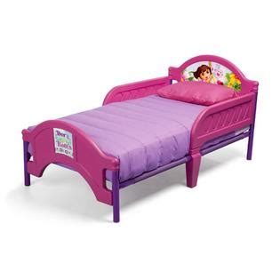 dora bed nickelodeon dora the explorer toddler girl s bed