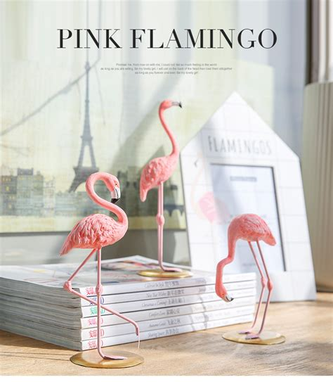 pink flamingo home decor figure on storenvy