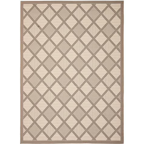 8 foot indoor outdoor rugs safavieh courtyard beige beige 8 ft x 11 ft indoor outdoor area rug cy7570 79a7 8 the