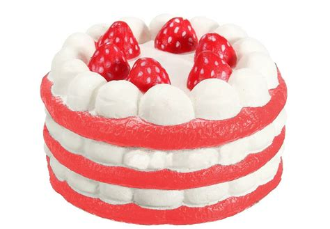Squishy Jumbo Stawberry Cake Termurah squishy jumbo strawberry cake squishy