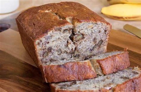 zutaten für kuchen banana nut bread bananenbrot usa kulinarisch