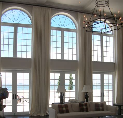curtains for high ceiling windows extra long curtains panels for high windows loft by