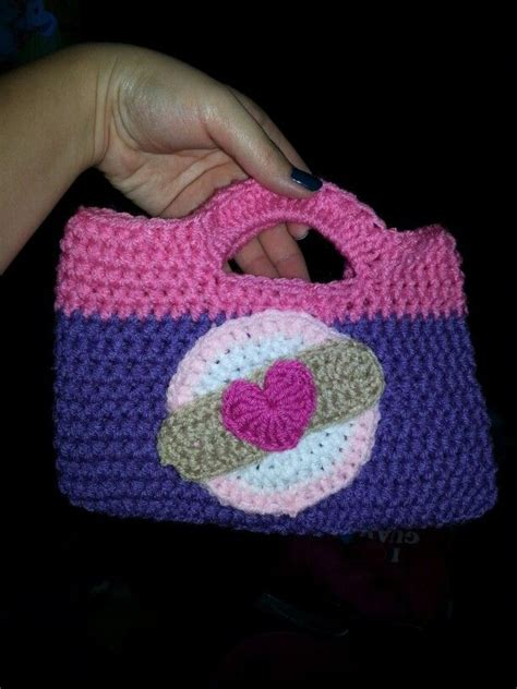 crochet animal bag pattern doc mcstuffins bag image only should be able to