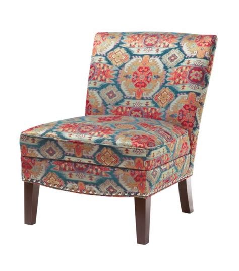 Colorful Accent Chair Colorful Southwestern Navajo Pattern Accent Chair