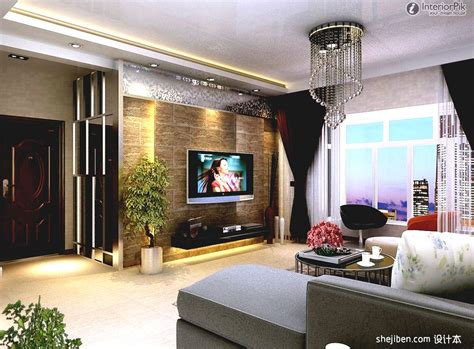 creative living room design with tv modern rooms colorful