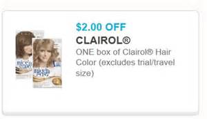 clairol hair color coupons printable coupons and deals clairol