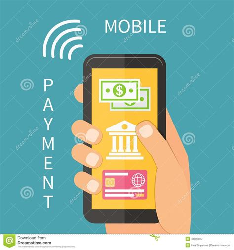 mobile payment software mobile payment using smartphone banking stock