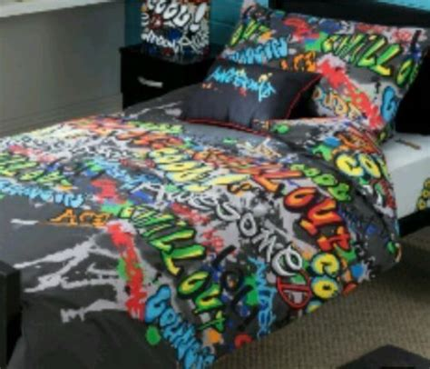 graffiti comforter sets 1000 ideas about single beds on pinterest double beds