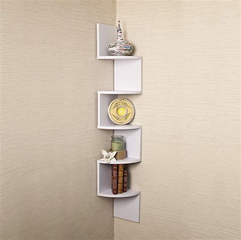 unique cool corner designs diagenesis unique wall decor shelves