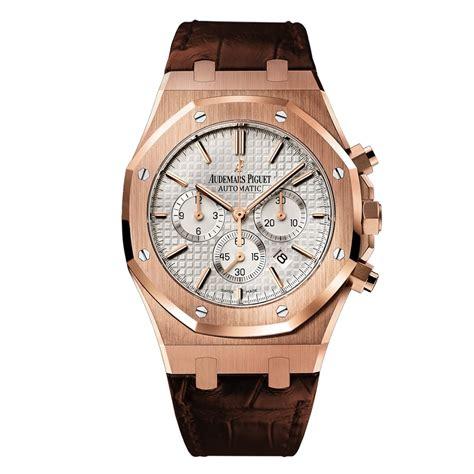 audemars piguet royal oak 18k rose gold chronograph watch