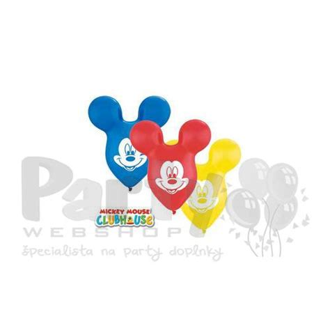 Balon Mickey Minnie Pentungan Murah bal 243 n mickey mouse farebn 253 38 cm