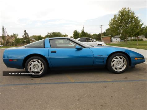 corvette zr1 blue 1991 chevrolet corvette zr1 quasar blue