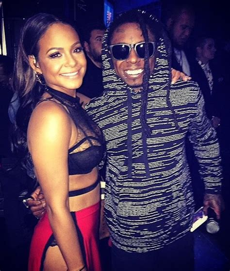 christina milian tattoo milian flaunts new lil wayne inspired tnt