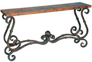 tisch schmiedeeisen stunning copper wrought iron furniture by prima