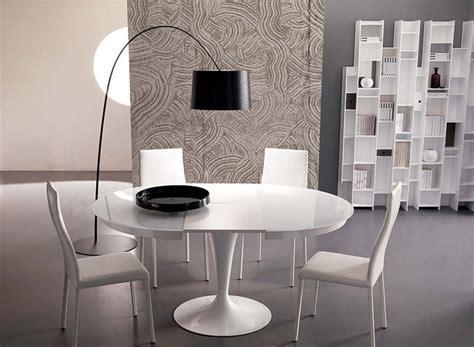tavoli soggiorno moderni allungabili tavolo rotondo allungabile per la sala da pranzo tavoli