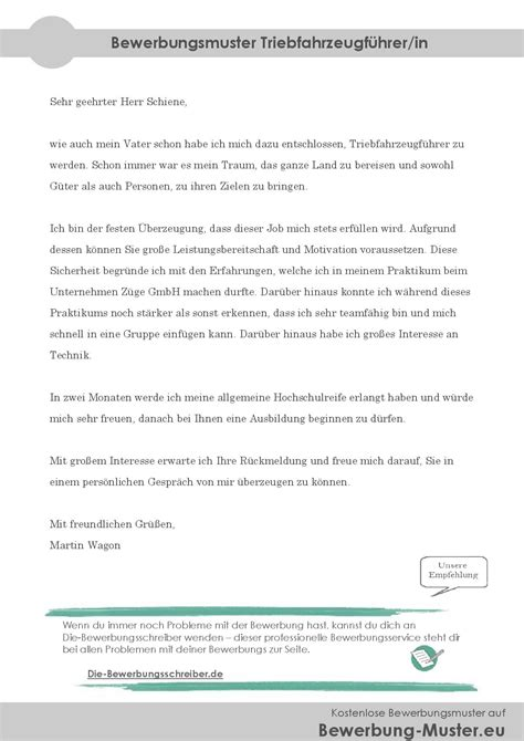 Kfz Lackierer Umschulung by Bewerbungsanschreiben Triebfahrzeugf 252 Hrerin Lokf 252 Hrer