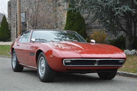 maserati burgundy interior 1970 maserati ghibli stock 20776 for sale near astoria