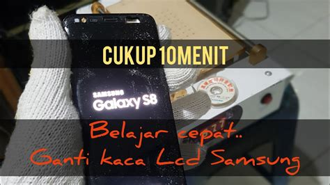ganti kaca lcd samsung note  youtube