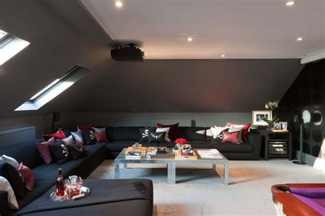 Home Theater Wall Sconces Lighting Mpd London Modern Home Theater London By Mpd London