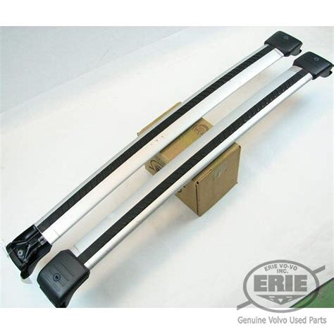 Volvo Roof Rack by Volvo Oem Silver Cross Bars For Volvo V50 With Roof Rack