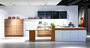 German Kitchen Design by Poggenpohl Showroom Herford Edition Front View