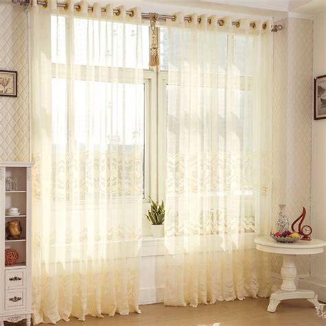 Rustic Window Curtains Finished Product Tulle Curtains Stripe Window Screening Rustic Decorative Door Curtain Yarn