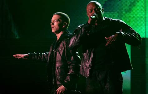 film met eminem watch eminem and dr dre recall the first time they met
