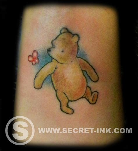 pooh bear tattoos august 2015 secret ink
