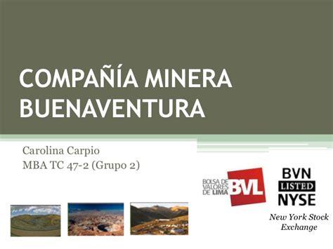 Nyu Mba Exchange Program by Compa 241 Ia De Minas Buenaventura