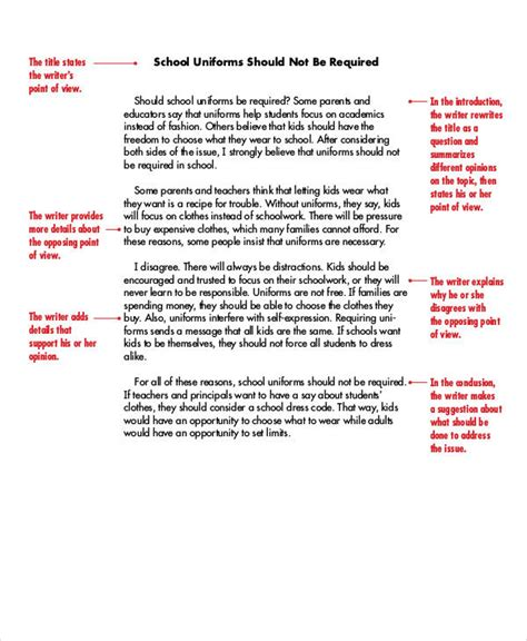 Well Written Persuasive Essay How To Write A Persuasive Essay For Middle Schoolers